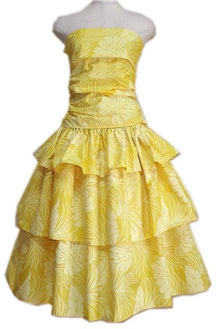 スリーフレア ドレス